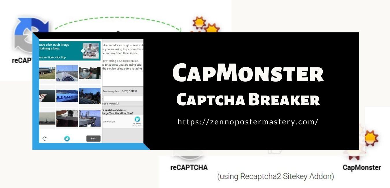CapMonster Captcha Breaker