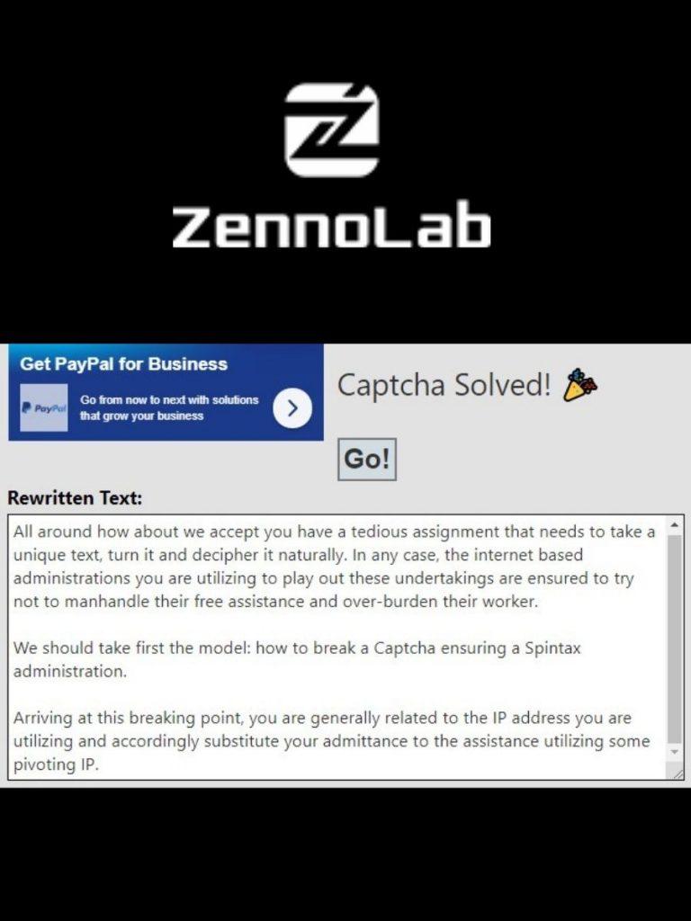 Tutorial Solving Captcha